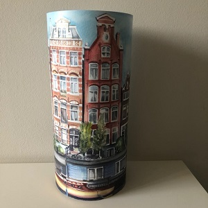 Lamp gracht Amsterdam